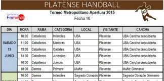 handball crono
