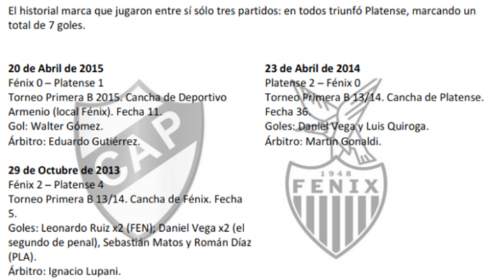PLATENSE VS FENIXal2015