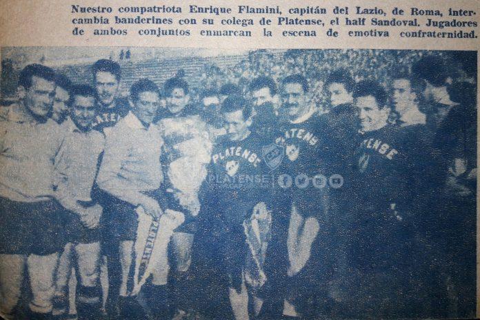 intercambio banderín Lazio