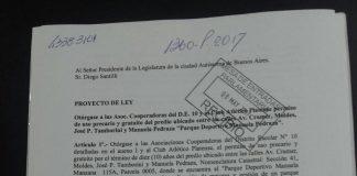 Presentación Proyecto de Ley 1