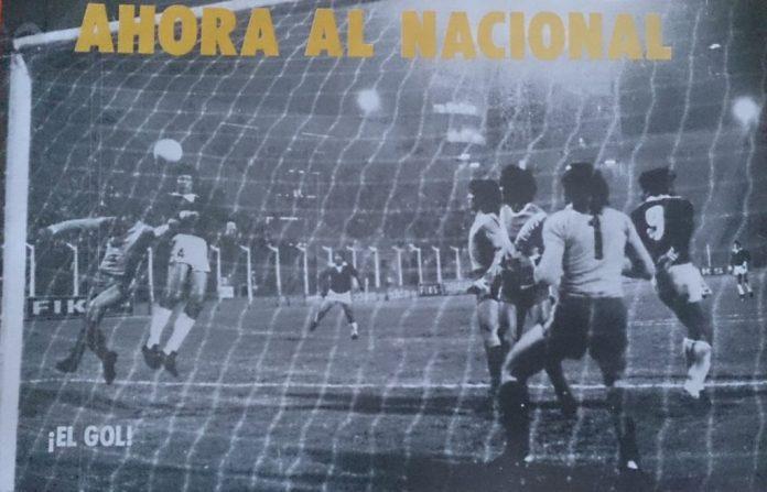 Gol del ascenso Platense Villa Dálmine 1976