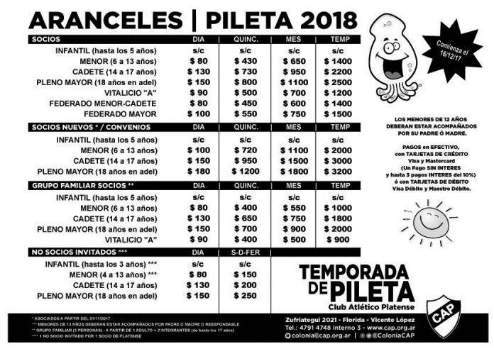 ARANCELES-PILETA-2018