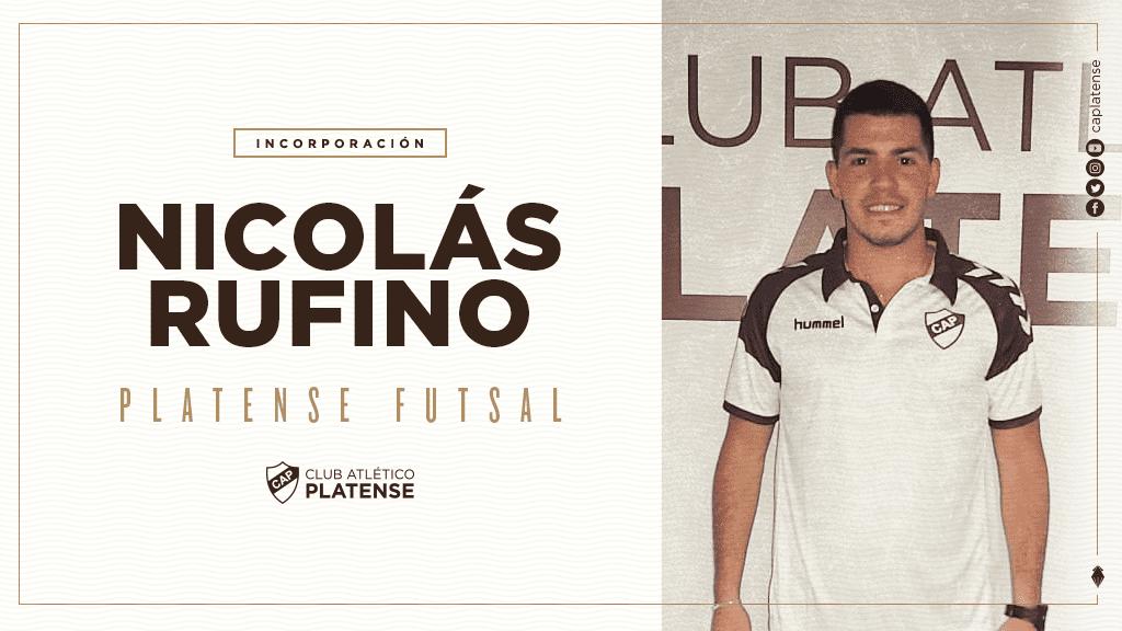 Nicolás Rufino, llega desde Atlanta. Posición: Ala.